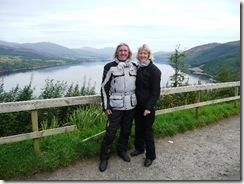 Loch Carron viewpoint
